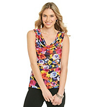 Cable & Gauge® Multi Colored Patterned Mesh Tank