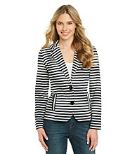 Cupio Ivory Striped Jacket