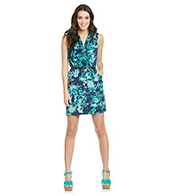 Kensie® Tangled Garden Printed Dress