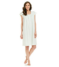 Miss Elaine® Silky Knit Short Gown