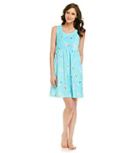 Jasmine Rose® Pool Blue Terry Coverup - Cocktails