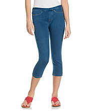 HUE® Medium Wash Original Jeans Capri