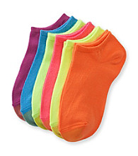 GOLD TOE® 6-pk. Brights Jersey Liner Socks