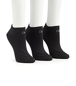 Calvin Klein Ankle Socks Three-Pack