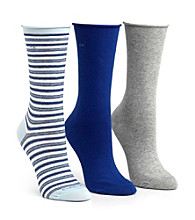 Calvin Klein Roll Top Crew Socks