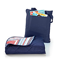 LivingQuarters All Weather Navy Throw