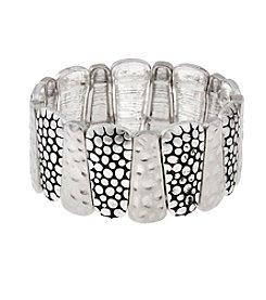 Erica Lyons® Silver Bracelet