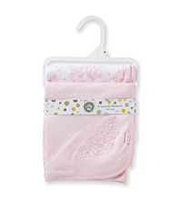 Little Me® Baby Girls' Rose 2-pk. Receiving Blankets