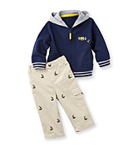 Little Me® Baby Boys' Navy Captain Jacket Set