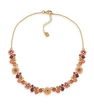 Carolee® Multi Colored Bright Side Floral Necklace