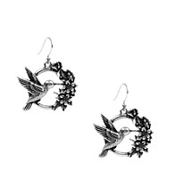 Lucky Brand® Silvertone Drop Earrings