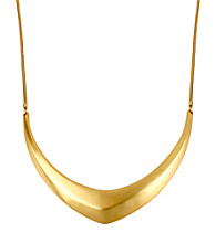 Kenneth Cole® Goldtone Sculptural Frontal Necklace