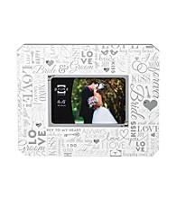Prinz® Wedding Typography Jeweled Frame