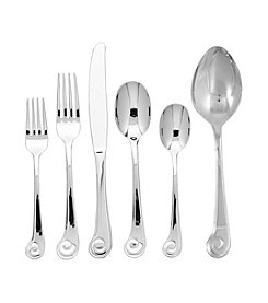 Ginkgo® Sanibel Surf 42-pc. Flatware Set