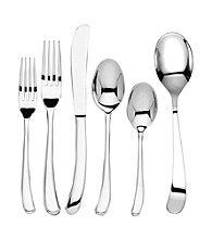 Ginkgo® Sea Drift 42-pc. Flatware Set