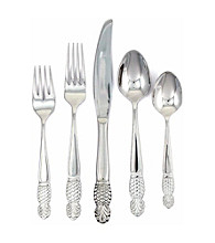 Ginkgo® Pineapple 20-pc. Flatware Set