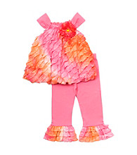 Rare Editions® Girls' 2T-4T Pink/Orange 2-pc. Ombre Eyelash Set