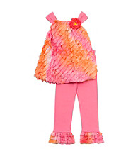 Rare Editions&Reg; Girls' 4-6X Pink/Orange 2-pc. Ombre Eyelash Set