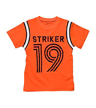 Carter's® Baby Boys' Orange Short Sleeve Striker 19 Tee