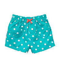 Carter's® Baby Girls' Teal Polka-Dot Woven Shorts