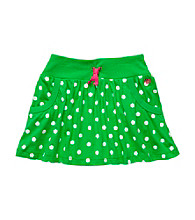 Carter's® Baby Girls' Green Polka-Dot Skort