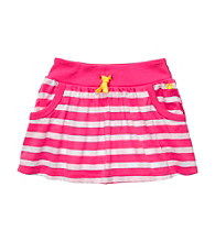 Carter's® Baby Girls' Pink Striped Skort