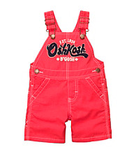 Oshkosh B'Gosh® Baby Boys' Red Logo Shortall