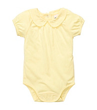 OshKosh B'Gosh® Baby Girls' Yellow Woven Bodysuit