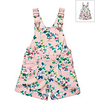 OshKosh B'Gosh® Baby Girls' Pink Floral Shortall