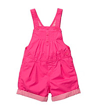 OshKosh B'Gosh® Baby Girls' Pink Woven Shortall