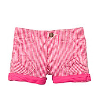 OshKosh B'Gosh® Baby Girls' Pink Gingham Woven Shorts