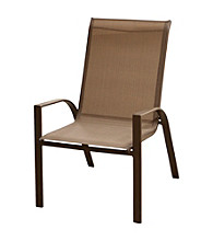 Mission Gallery Oversized Textilene Patio Chair Set of 2