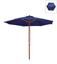 Mission Gallery 8' Dark Blue Umbrella