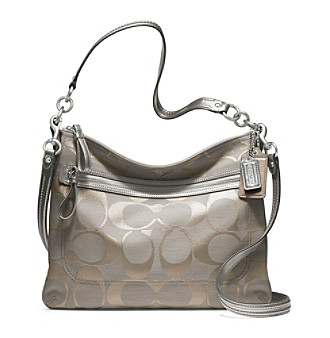 COACH POPPY SIGNATURE METALLIC PERRI HIPPIE