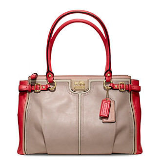 COACH MADISON COLORBLOCK KARA CARRYALL