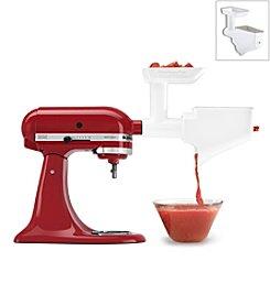 KitchenAid® Food Grinder & Fruit/Vegetable Strainer Stand Mixer Attachment