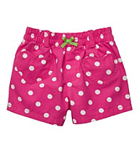 Carter's® Baby Girls' Pink/White Polka-Dot Woven Shorts
