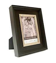 Timeless Frames® Baldwin Black and Silver Wood Tabletop Frame