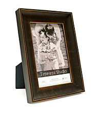 Timeless Frames® Gilead Mahogany and Gold Wood Tabletop Frame