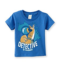 Scooby-Doo® Boys' 2T-4T Blue Short Sleeve Detective Tee