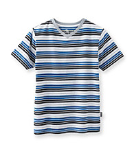 Mambo® Boys' 8-20 Brody Striped Short Sleeve Tee