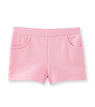 Little Miss Attitude Girls' 2T-6X Knit Shorts
