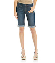 Lucky Brand® Abbey Fray Cuff Bermuda