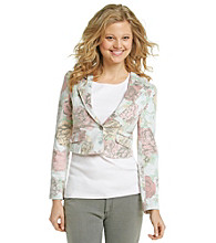 Nine West Vintage America Collection® Printed Blazer