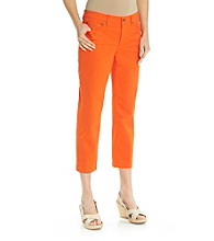 Jones New York Sport® 5 Pocket Colored Crop