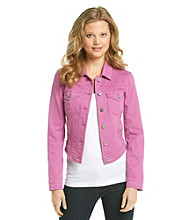 Oneworld® Purple Denim Jacket