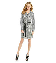 Vince Camuto® Printed Shirt Dress