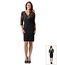 Adrianna Papell® Lace Band Dress