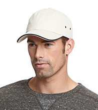 Isotoner® Lake of the Isles™ Men's Stone & Black Chino Baseball Cap