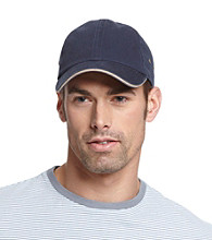 Isotoner® Lake of the Isles™ Men's Navy & Khaki Chino Baseball Cap